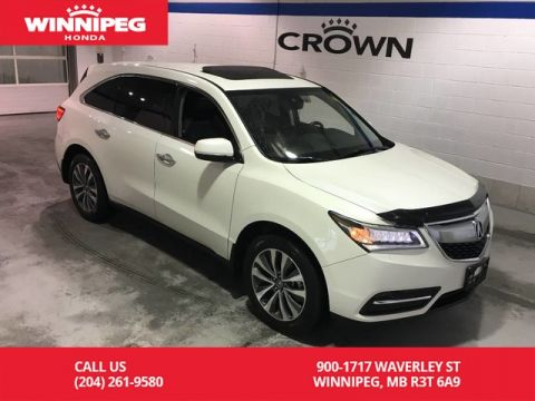 Pre-Owned 2016 Acura MDX SH-AWD 4dr Nav Pkg/Sunroof/Leather/Heated seats