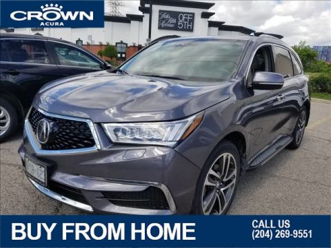 Certified Pre-Owned 2017 Acura MDX Nav SH-AWD **Includes Factory Running Boards** 7 Year Warranty & No Charge Remote Start**