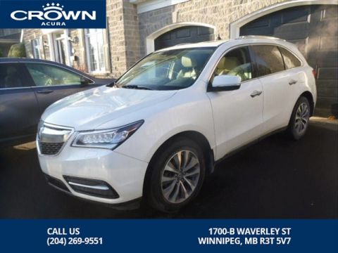 Certified Pre-Owned 2016 Acura MDX Navi SH-AWD **Includes No Charge 7 Year Extended Warranty** Includes Remote Start**