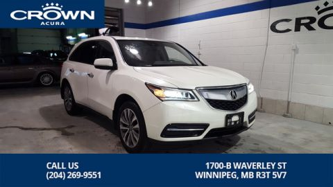 Certified Pre-Owned 2016 Acura MDX Navi SH-AWD **No Charge Extended Warranty** 7 Passenger** Remote Starter Included**