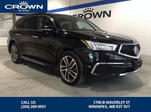 Pre-Owned 2017 Acura MDX Tech SH-AWD ** Running Boards ** Navigation ** DVD **
