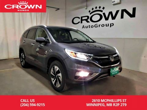 Pre-Owned 2016 Honda CR-V Touring/awd/one owner/navigation/back up cam/heated seats/sunroo