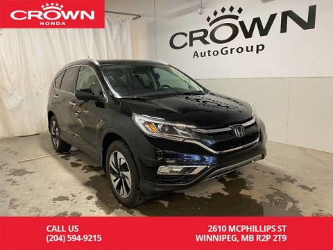 Pre-Owned 2015 Honda CR-V Touring/ ONE OWNER/ LOW KMS/ HEATED FRONT SEATS/ BACKUP CAMERA/ BLUETOOTH/ PUSH START