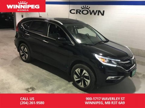 Pre-Owned 2016 Honda CR-V AWD / Touring / Navigaiton / Bluetooth / Power tail gate