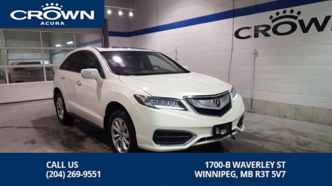 Certified Pre-Owned 2016 Acura RDX Premium SH-AWD **Includes No Charge Extended Warranty** Acura Certified**