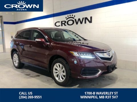 Pre-Owned 2017 Acura RDX Tech AWD ** Navigation ** Local Lease Return**
