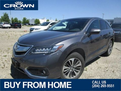 Certified Pre-Owned 2017 Acura RDX Elite AWD **7 Year No Charge 160000 Km Warranty**