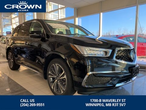 New 2019 Acura MDX Tech SH-AWD - Save Up To $7,500 This Month!