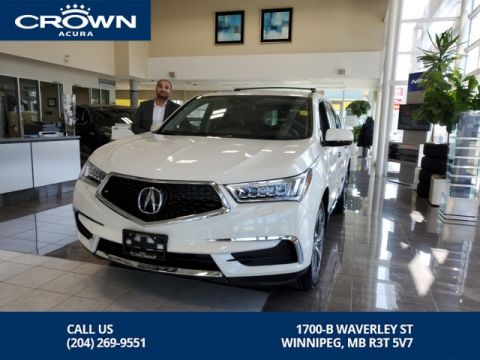 New 2019 Acura MDX Tech SH-AWD