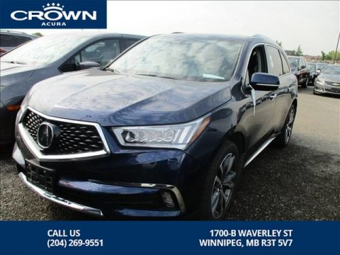 Pre-Owned 2019 Acura MDX Elite SH-AWD ** Top of The Line** Save Thousands Off New**