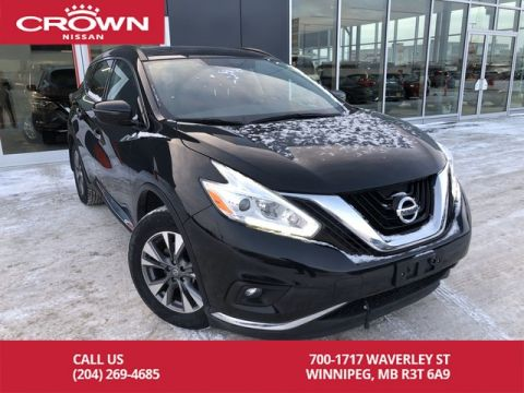Certified Pre-Owned 2017 Nissan Murano SV AWD *Backup Camera/Remote Start/Navigation*
