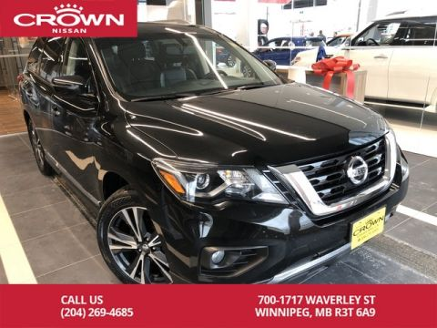 Certified Pre-Owned 2018 Nissan Pathfinder Platinum 4WD *Bluetooth/Navigation/Remote Start*