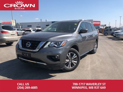 Pre-Owned 2018 Nissan Pathfinder SV Tech V6 4WD *Navi/Heated Steering Wheel*