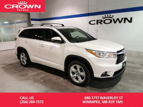 Pre-Owned 2016 Toyota Highlander Limited AWD / Clean Carproof / One Owner / Manitoba Vehicle