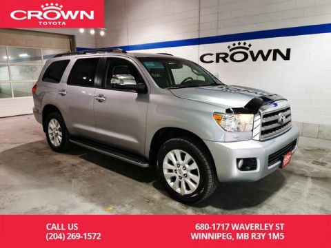 Pre-Owned 2014 Toyota Sequoia Platinum / Accident Free / Local / One Owner / Highway Kms / Great Value