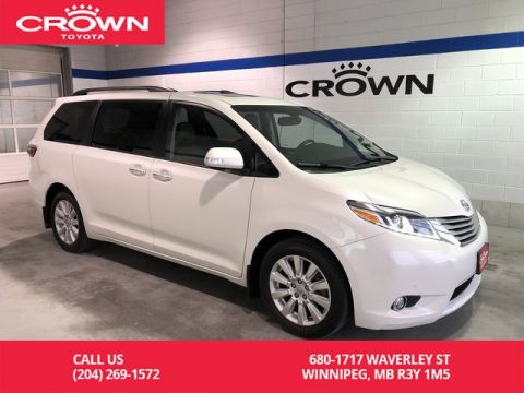 Pre-Owned 2017 Toyota Sienna XLE Limited AWD / Lease Return / Low Kms / Local