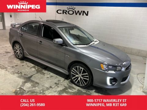 Pre-Owned 2017 Mitsubishi Lancer 4dr Sdn CVT GTS FWD