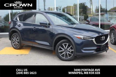 Pre-Owned 2018 Mazda CX-5 GT **Unlimted Km Warranty/Serviced Here**