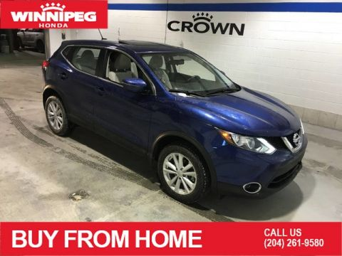 Pre-Owned 2018 Nissan Qashqai SV / FWD / Rear view camera / Heated seats / Bluetooth