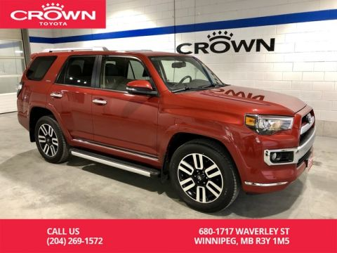 Pre-Owned 2015 Toyota 4Runner Limited 5 Pass 4WD / Manitoba Vehicle / Highway Kms / Accident Free / Great Condition / Best Value