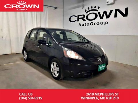 Pre-Owned 2014 Honda Fit HB Man LX/one owner lease return/ low kms